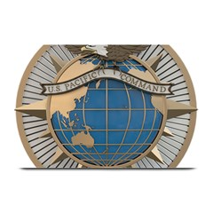 Emblem Of United States Pacific Command Plate Mats by abbeyz71