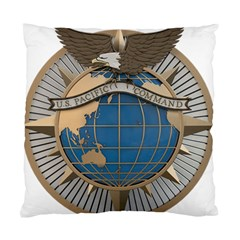 Emblem Of United States Pacific Command Standard Cushion Case (one Side)