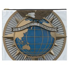 Emblem Of United States Pacific Command Cosmetic Bag (xxxl)