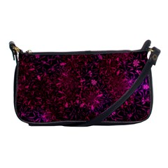 Retro Flower Pattern Design Batik Shoulder Clutch Bag