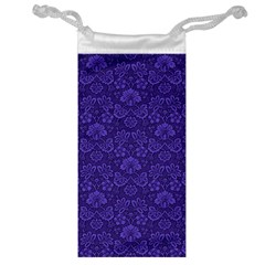 Wallpaper Seamless Damask Wall Jewelry Bag
