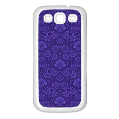 Wallpaper Seamless Damask Wall Samsung Galaxy S3 Back Case (white)