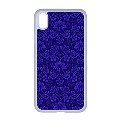 Wallpaper Seamless Damask Wall Apple Iphone Xr Seamless Case (white)