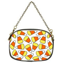 Candy Corn Halloween Candy Candies Chain Purse (one Side)