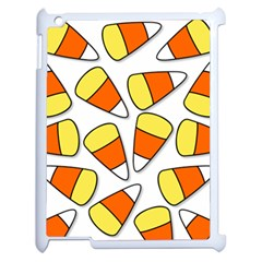 Candy Corn Halloween Candy Candies Apple Ipad 2 Case (white)