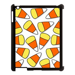 Candy Corn Halloween Candy Candies Apple Ipad 3/4 Case (black)