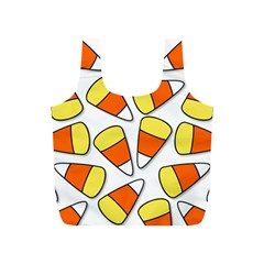 Candy Corn Halloween Candy Candies Full Print Recycle Bag (s) by Pakrebo