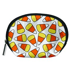 Candy Corn Halloween Candy Candies Accessory Pouch (medium)