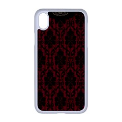 Scrapbook Background Curtain Swag Apple Iphone Xr Seamless Case (white)