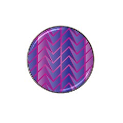 Geometric Background Abstract Hat Clip Ball Marker