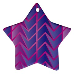 Geometric Background Abstract Star Ornament (two Sides)