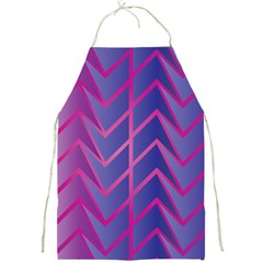 Geometric Background Abstract Full Print Aprons