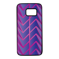 Geometric Background Abstract Samsung Galaxy S7 Black Seamless Case by Alisyart