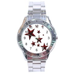 Free Stars Stainless Steel Analogue Watch