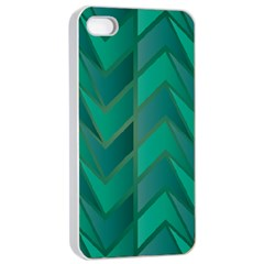 Geometric Background Apple Iphone 4/4s Seamless Case (white)