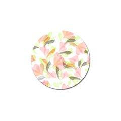 Flower Floral Golf Ball Marker