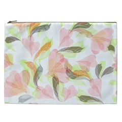 Flower Floral Cosmetic Bag (xxl)