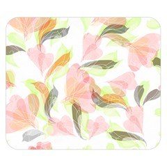 Flower Floral Double Sided Flano Blanket (small)