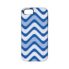 Waves Wavy Lines Pattern Apple Iphone 5 Classic Hardshell Case (pc+silicone)