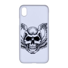 Human Skull Symbolism Apple Iphone Xr Seamless Case (white) by Alisyart