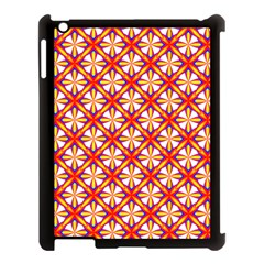 Hexagon Polygon Colorful Prismatic Apple Ipad 3/4 Case (black) by Alisyart