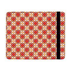 Hexagon Polygon Colorful Prismatic Samsung Galaxy Tab Pro 8 4  Flip Case by Alisyart