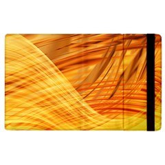 Wave Background Apple Ipad 2 Flip Case by Alisyart