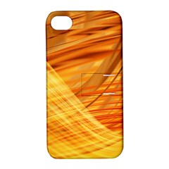 Wave Background Apple Iphone 4/4s Hardshell Case With Stand by Alisyart