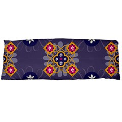 Morocco Tile Traditional Marrakech Body Pillow Case Dakimakura (two Sides) by Alisyart