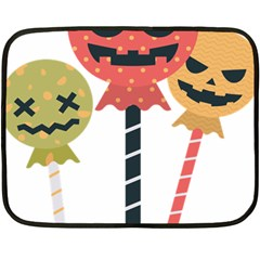 Lollipop Candy Double Sided Fleece Blanket (mini)