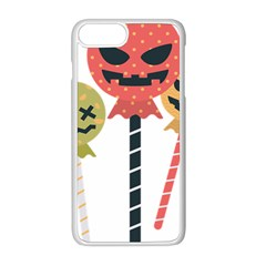 Lollipop Candy Apple Iphone 8 Plus Seamless Case (white) by Alisyart