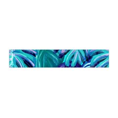 Leaves Tropical Palma Jungle Flano Scarf (mini) by Alisyart