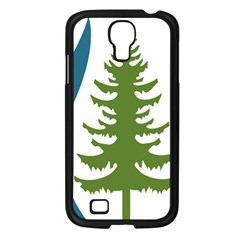 1  Forest Christmas Tree Spruce Samsung Galaxy S4 I9500/ I9505 Case (black)