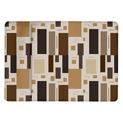Background Wall Plaid Samsung Galaxy Tab 10 1  P7500 Flip Case by AnjaniArt