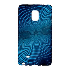 Background Brush Particles Wave Samsung Galaxy Note Edge Hardshell Case