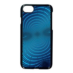 Background Brush Particles Wave Apple Iphone 8 Seamless Case (black) by AnjaniArt