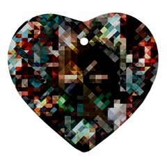 Abstract Texture Ornament (heart) by AnjaniArt