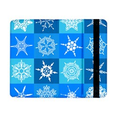 Background Blue Decoration Samsung Galaxy Tab Pro 8 4  Flip Case by AnjaniArt