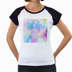 Abstract Watercolor Women s Cap Sleeve T by AnjaniArt