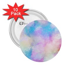 Abstract Watercolor 2 25  Buttons (10 Pack)