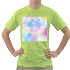 Abstract Watercolor Green T Shirt by AnjaniArt