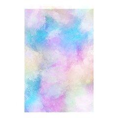 Abstract Watercolor Shower Curtain 48  X 72  (small)