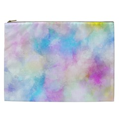 Abstract Watercolor Cosmetic Bag (xxl)
