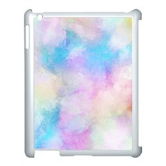 Abstract Watercolor Apple Ipad 3/4 Case (white)