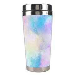 Abstract Watercolor Stainless Steel Travel Tumblers