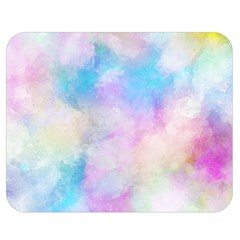 Abstract Watercolor Double Sided Flano Blanket (medium)