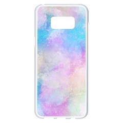 Abstract Watercolor Samsung Galaxy S8 Plus White Seamless Case by AnjaniArt