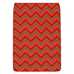 Background Retro Red Zigzag Removable Flap Cover (s)