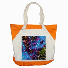 Background Chaos Mess Colorful Accent Tote Bag by AnjaniArt