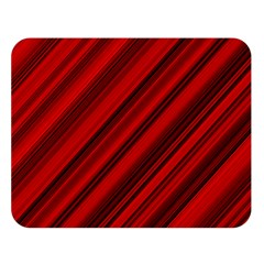 Background Red Lines Double Sided Flano Blanket (large)